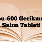 İbu-600 Gecikmeli Salım Tableti