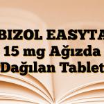 ABIZOL EASYTAB 15 mg Ağızda Dağılan Tablet