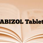 ABIZOL Tablet