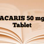 ACARIS 50 mg Tablet