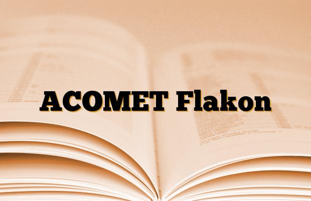 ACOMET Flakon