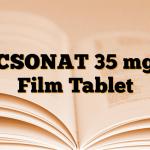 ACSONAT 35 mg 4 Film Tablet