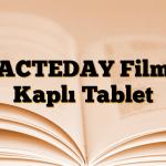ACTEDAY Film Kaplı Tablet