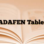 ADAFEN Tablet