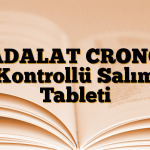 ADALAT CRONO Kontrollü Salım Tableti