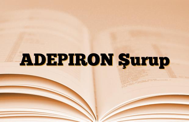 ADEPIRON Şurup