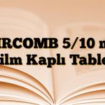 AIRCOMB 5/10 mg Film Kaplı Tablet