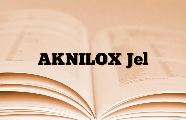 AKNILOX Jel
