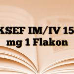 AKSEF IM/IV 1500 mg 1 Flakon
