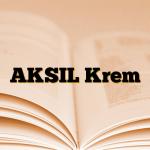 AKSIL Krem