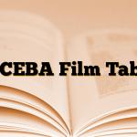 ALCEBA Film Tablet