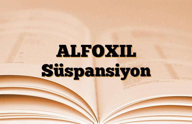 ALFOXIL Süspansiyon