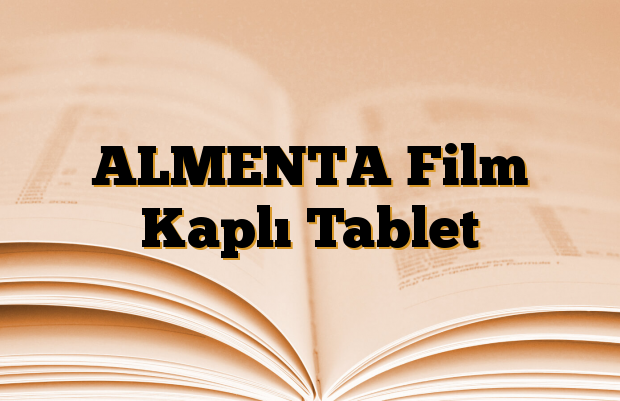 ALMENTA Film Kaplı Tablet