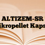ALTIZEM-SR Mikropellet Kapsül
