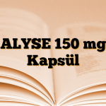 ALYSE 150 mg Kapsül