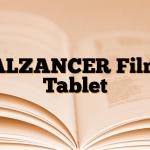 ALZANCER Film Tablet