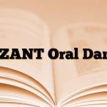 ALZANT Oral Damla