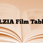 ALZIA Film Tablet