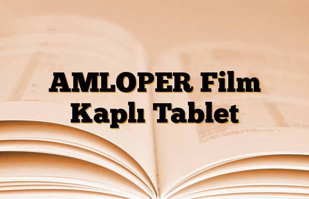 AMLOPER Film Kaplı Tablet