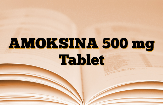 AMOKSINA 500 mg Tablet