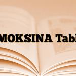 AMOKSINA Tablet