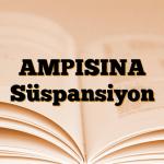 AMPISINA Süspansiyon
