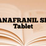 ANAFRANIL SR Tablet
