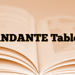 ANDANTE Tablet