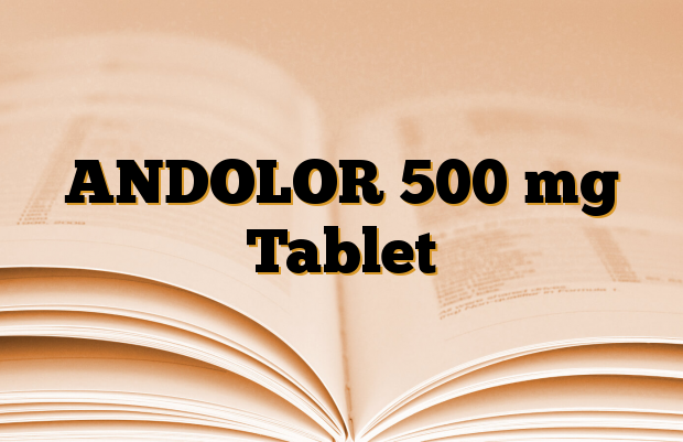 ANDOLOR 500 mg Tablet