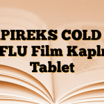 APIREKS COLD & FLU Film Kaplı Tablet