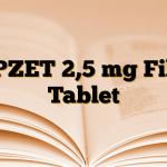 APZET 2,5 mg Film Tablet