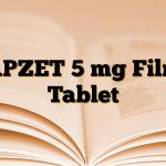APZET 5 mg Film Tablet