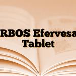 ARBOS Efervesan Tablet