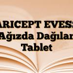 ARICEPT EVESS Ağızda Dağılan Tablet