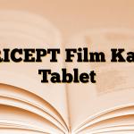 ARICEPT Film Kaplı Tablet