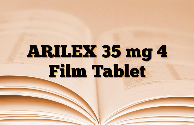 ARILEX 35 mg 4 Film Tablet