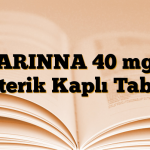 ARINNA 40 mg Enterik Kaplı Tablet