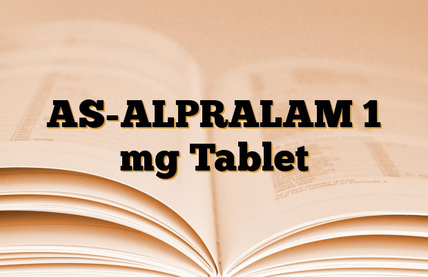 AS-ALPRALAM 1 mg Tablet