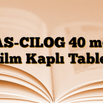 AS-CILOG 40 mg Film Kaplı Tablet