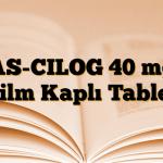 AS-CILOG 40 mg Film Kaplı Tablet