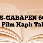 AS-GABAPEN 600 mg Film Kaplı Tablet