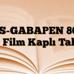 AS-GABAPEN 800 mg Film Kaplı Tablet