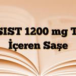 ASIST 1200 mg Toz İçeren Saşe