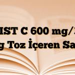 ASIST C 600 mg/300 mg Toz İçeren Saşe