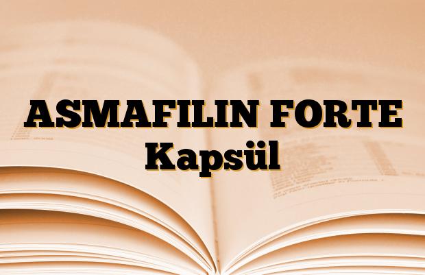 ASMAFILIN FORTE Kapsül