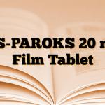 AS-PAROKS 20 mg Film Tablet
