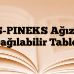 AS-PINEKS Ağızda Dağılabilir Tablet