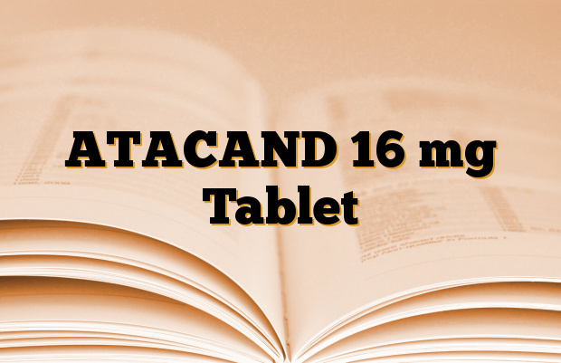 ATACAND 16 mg Tablet
