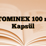 ATOMINEX 100 mg Kapsül