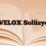 AVELOX Solüsyon